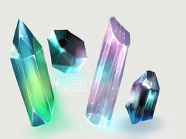 Crystals by KsiezniczkaOlya
