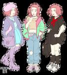 JJBA | Reimi outfits