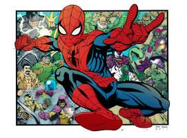 Spider-Man Print by DerecDonovan