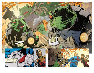 Time Toads Double Page