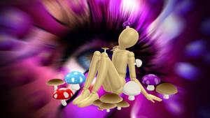 [MMD] Mushrooms DL by Sallymans1998