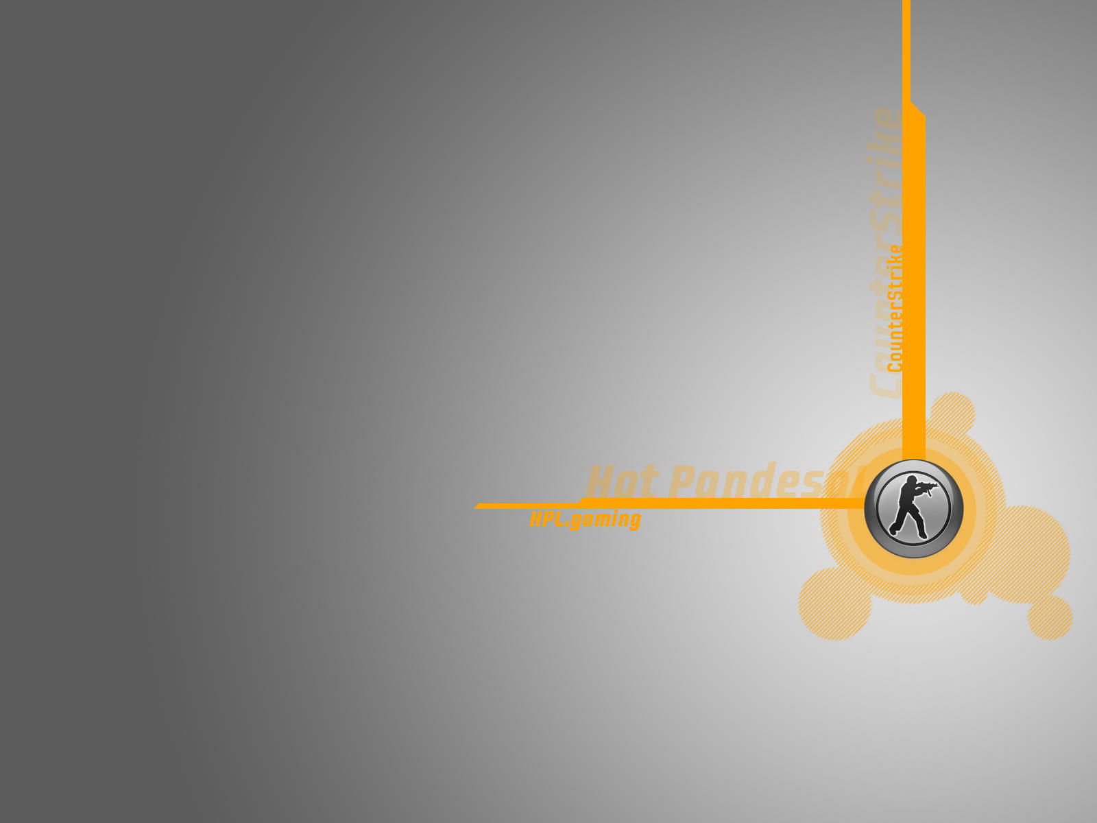 hpl wallpaper grey orange by draconisovd fan art wallpaper games 2006