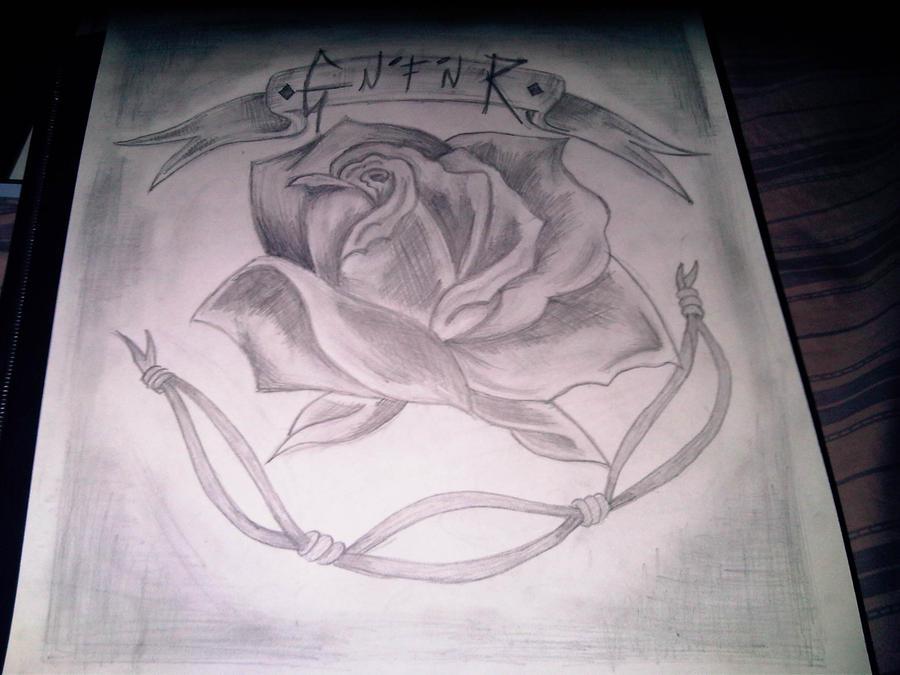 Guns n roses tattoo idea by louisecruz on deviantart for Guns n roses tattoos