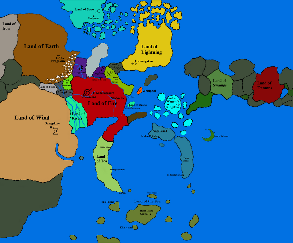Download Map Naruto World 5 0. Extended Naruto map 1 4 by LordRahl8 on DeviantArt