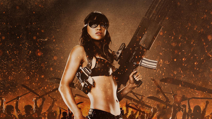 Michelle Rodriguez Machete by StArL0rd84