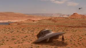 Desert UFO Crash