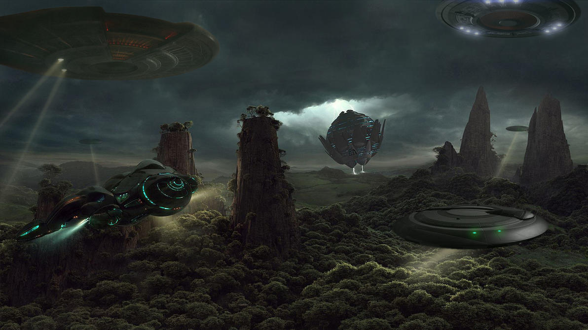 UFO Search by -DRAGON JIEANU- by StArL0rd84