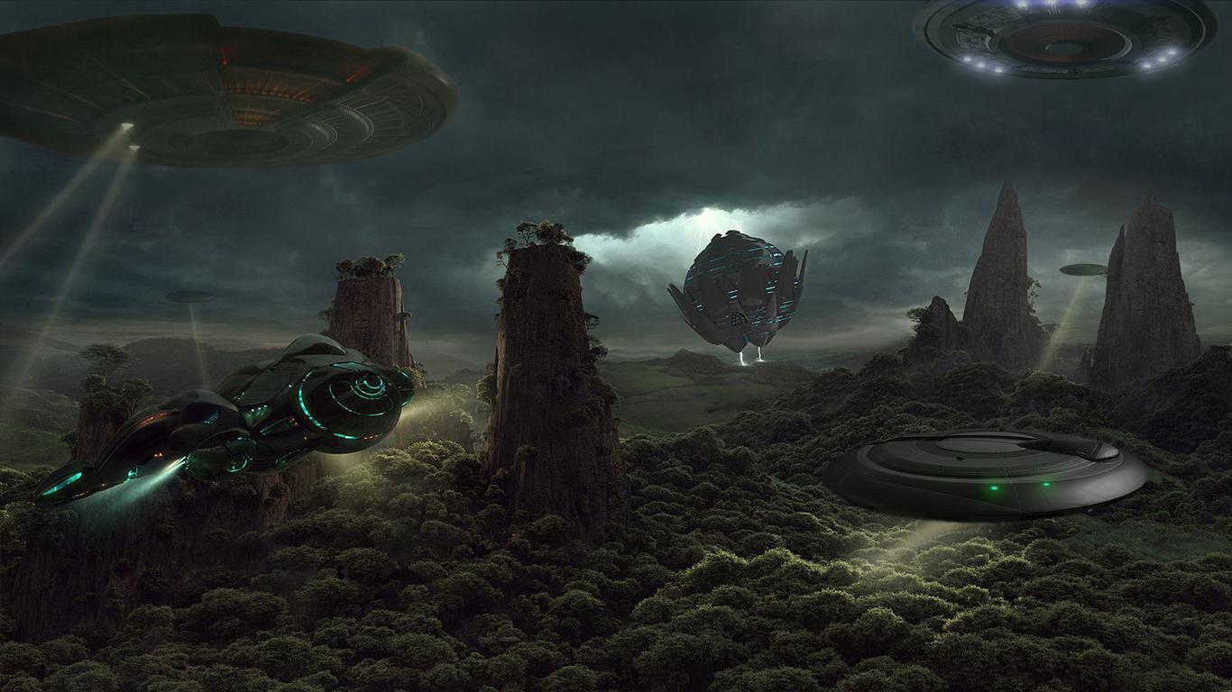 UFO Search by -DRAGON JIEANU- by Thyrring