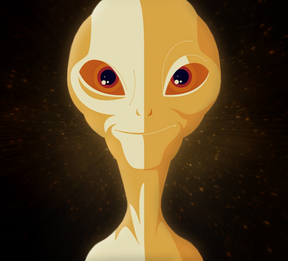 Paul - My alien avatar by StArL0rd84