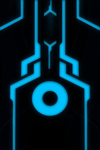 TRON Blue by Thyrring
