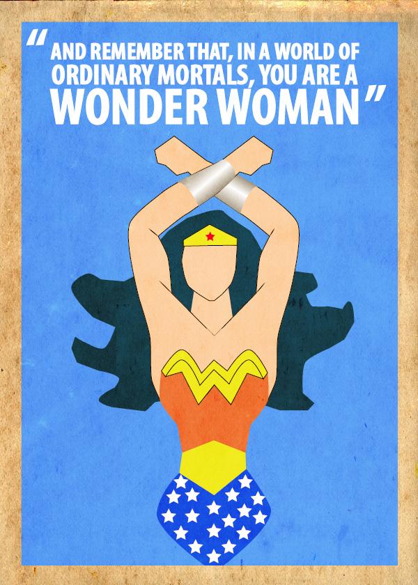 Wonderwoman Poster by Procastinating