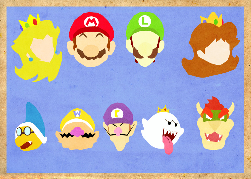 Mario Universe Poster by Procastinating