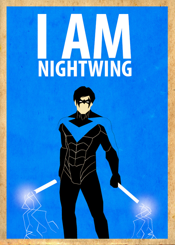 Nightwing Poster by Procastinating