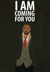 BBC Luther Poster by Procastinating