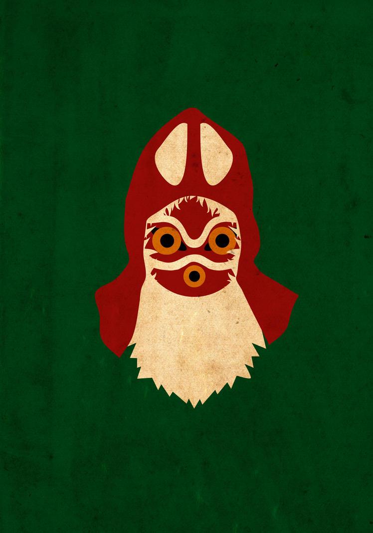 Mononoke Hime by Procastinating