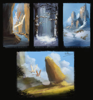 Practice Paintings