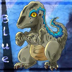 Jurassic Park - Blue