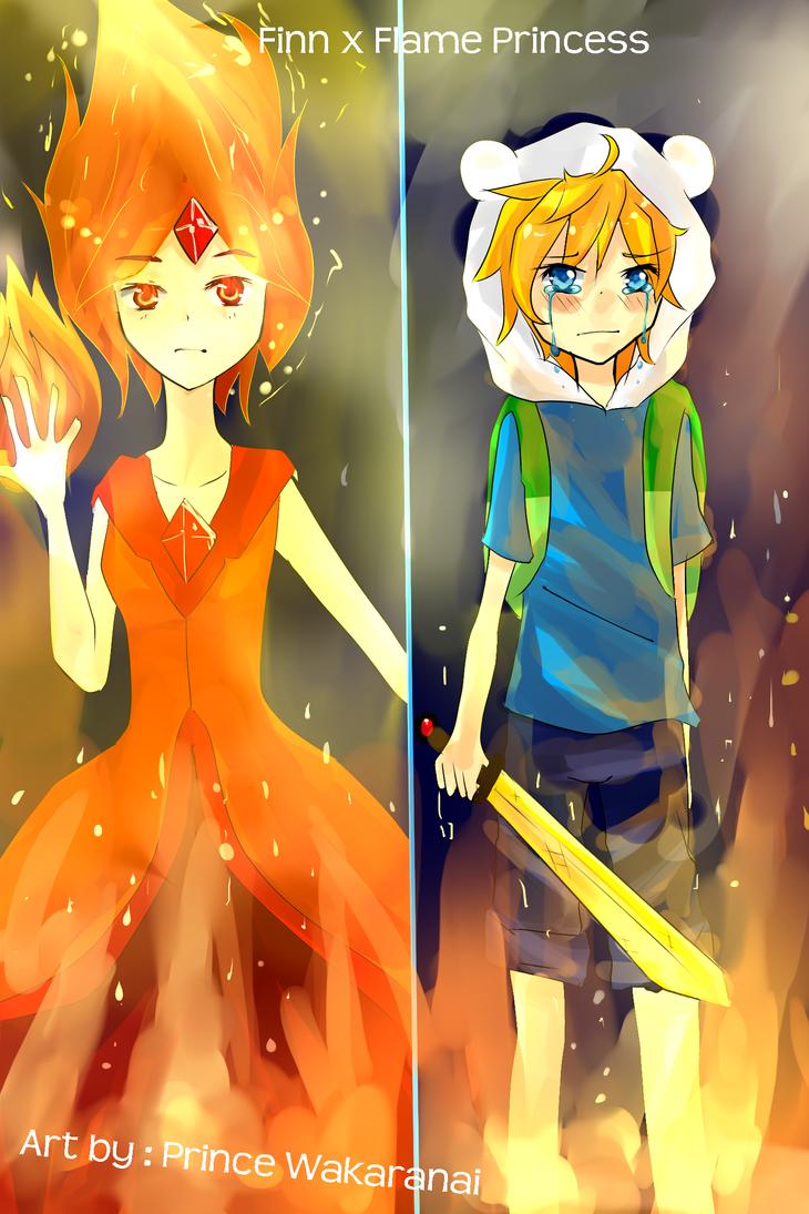 Finn x Flame Princess by PrinceWakaranai