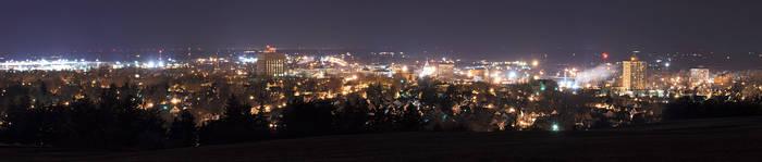 Watertown at Night
