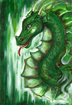study of a dragon