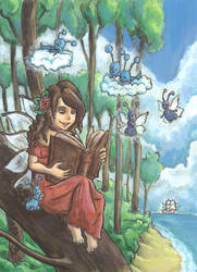 Lisa, the fairytale fairy