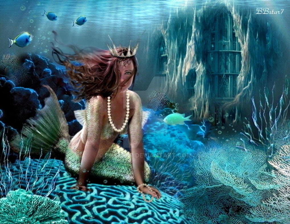 Underwater princess by BBstar7