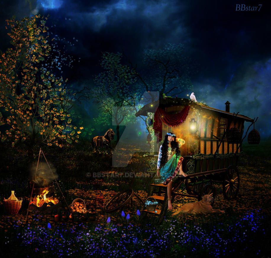 Gypsy Night by BBstar7 on DeviantArt