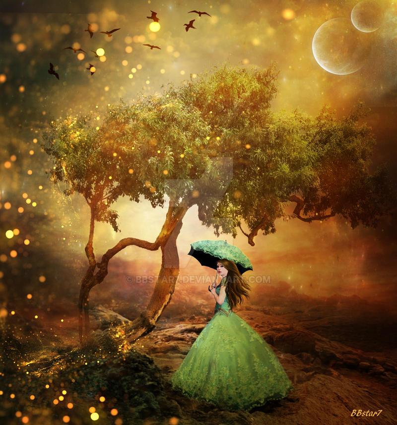 Golden Serenity by BBstar7