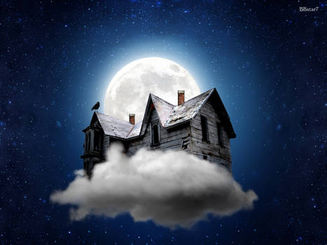 Witch's House made by Tutorial (white moon) dark