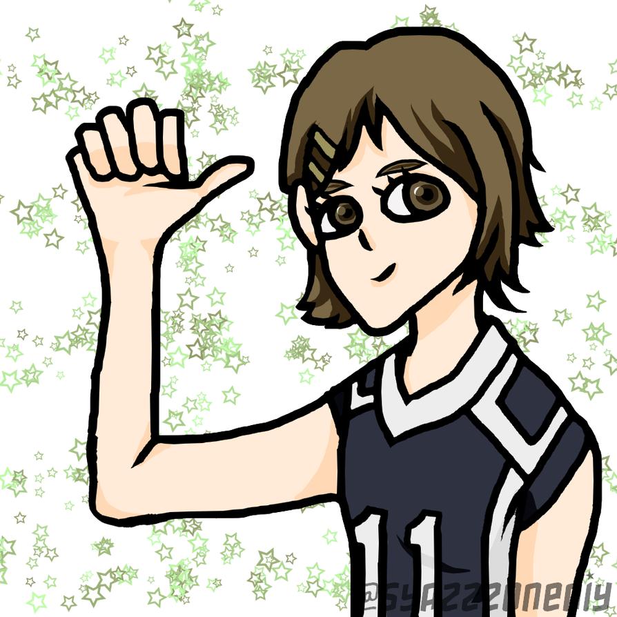 Chizuru standing up now! by SyazzzOneniy