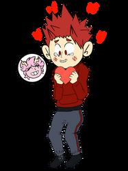 Kirishima Get His Valentine Card uwu by SyazzzOneniy