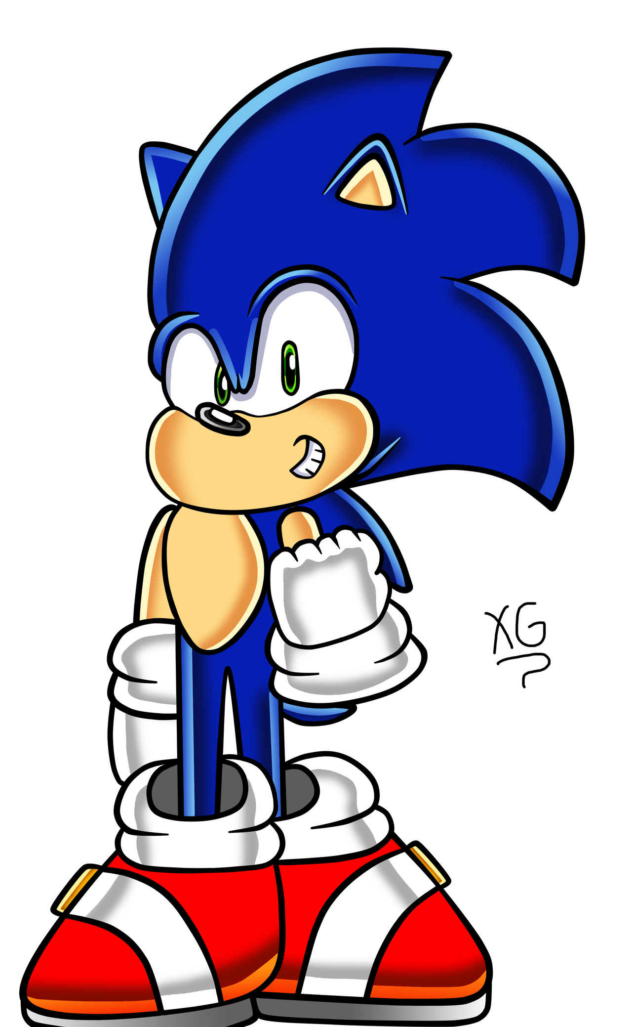 A Other Sonic Adventure Style By Icemario865 On Deviantart