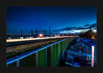 Trainstation Long Exposure