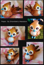 Pepe - Resin Sculpt garrison Birdy Now available