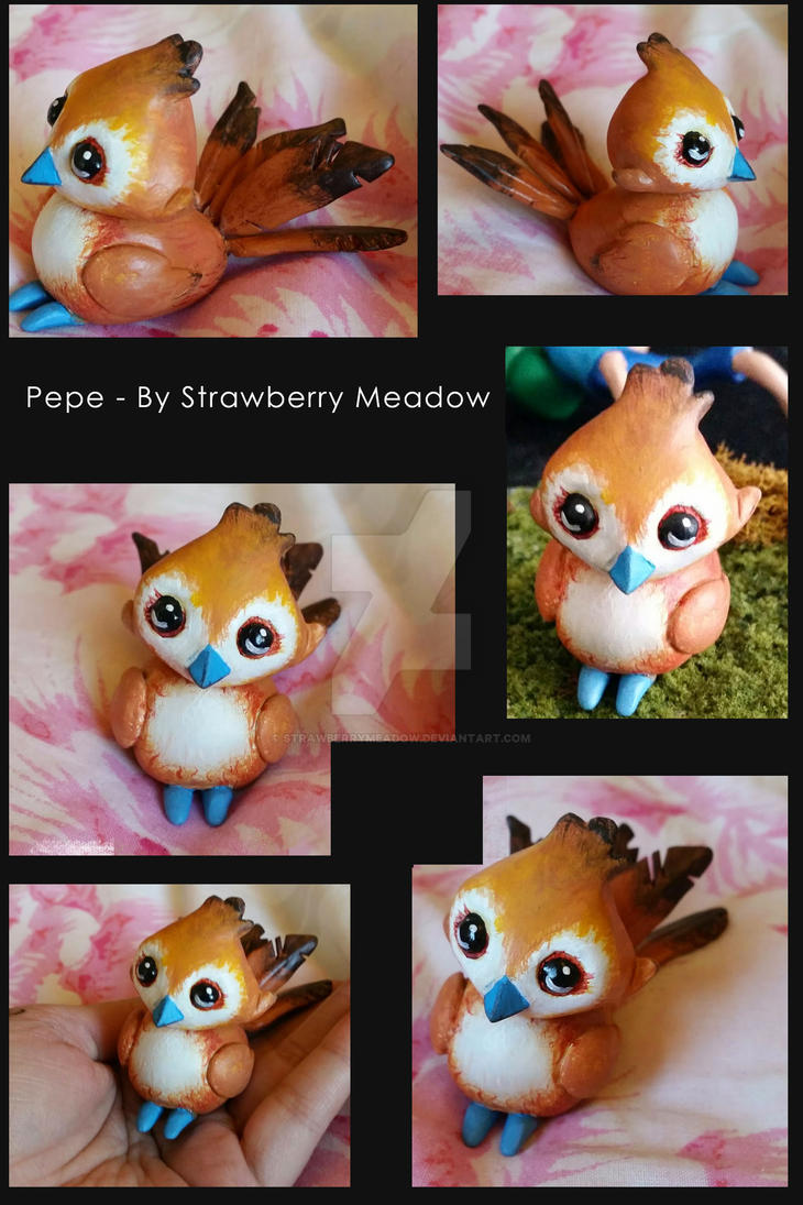 Pepe - Resin Sculpt garrison Birdy Now available by StrawberryMeadow