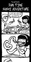 Fun Time Sushi Adventure by captainsponge