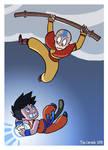 Goku VS Aang
