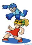 Mega Man and Roll