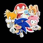 Sonic stikerpack