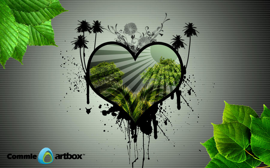 Wallpaper 1440x1280 Px Abstract Love Nature: MA Wallpapers: Love Nature Abstract Wallpaper By Comodore64