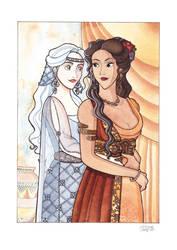 Maelerys and Zora Commission by Teodora85
