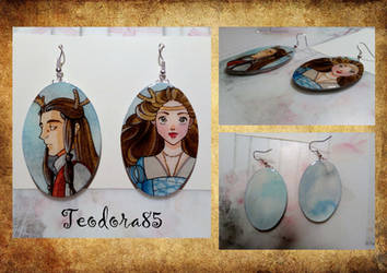 Earrings on commission!