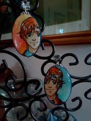 Weasley twins earrings!