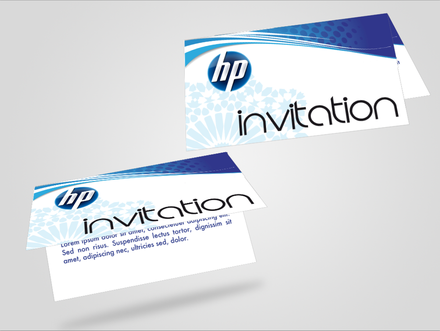 Invitation Hp by youssefchaou on DeviantArt