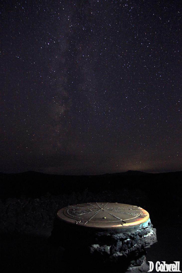 Milky way by davecbend