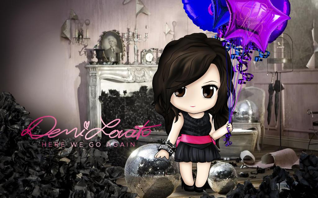 Demi Lovato - Here We Go Again by RICARD0espinoza