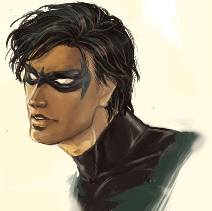 Nightwing by NISSHIE
