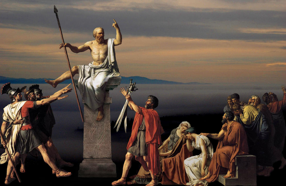 the greatness of socrates The most interesting and influential thinker in the fifth century was socrates,  he maintains that public discussion of the great issues of life and virtue is a .