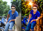 Photoshop photo editing Hard Color Effect