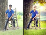 Background Mixing Blending